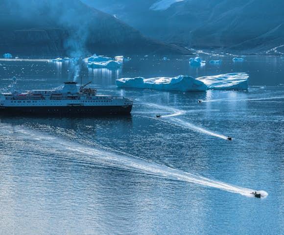 Northwest Passage Ships
