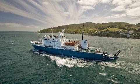 Spirit of Enderby - Arctic Ship