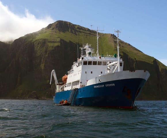 Akademik Shokalskiy - Arctic Ship