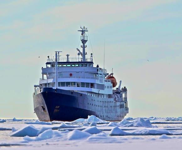 Plancius - Arctic Ship