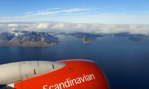 Svalbard Flying Plane