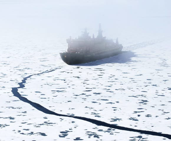 50 Years of Victory - Arctic Ship