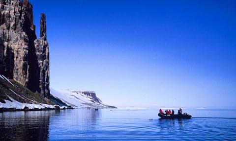 Svalbard Landing Sites